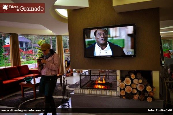Lobby do Hotel Laghetto Premium