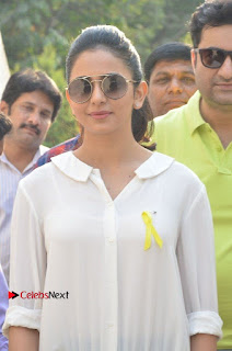 Actress Rakul Preet Singh at Endometriosis Awareness Walk at Apollo Cradle  0009.jpg