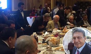 اللواء سعد الجمال فى حفل إفطار (دعم مصر)