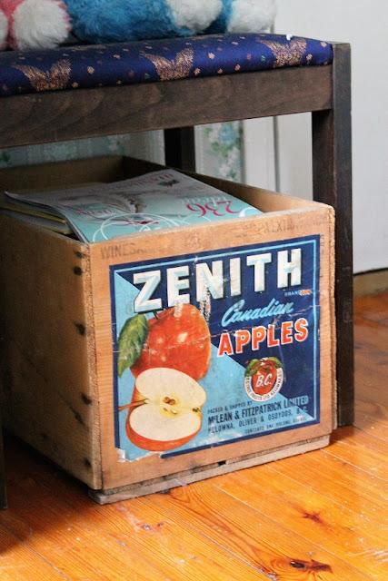 puulaatikko, omenalaatikko, retro, vintage, vanha laatikko