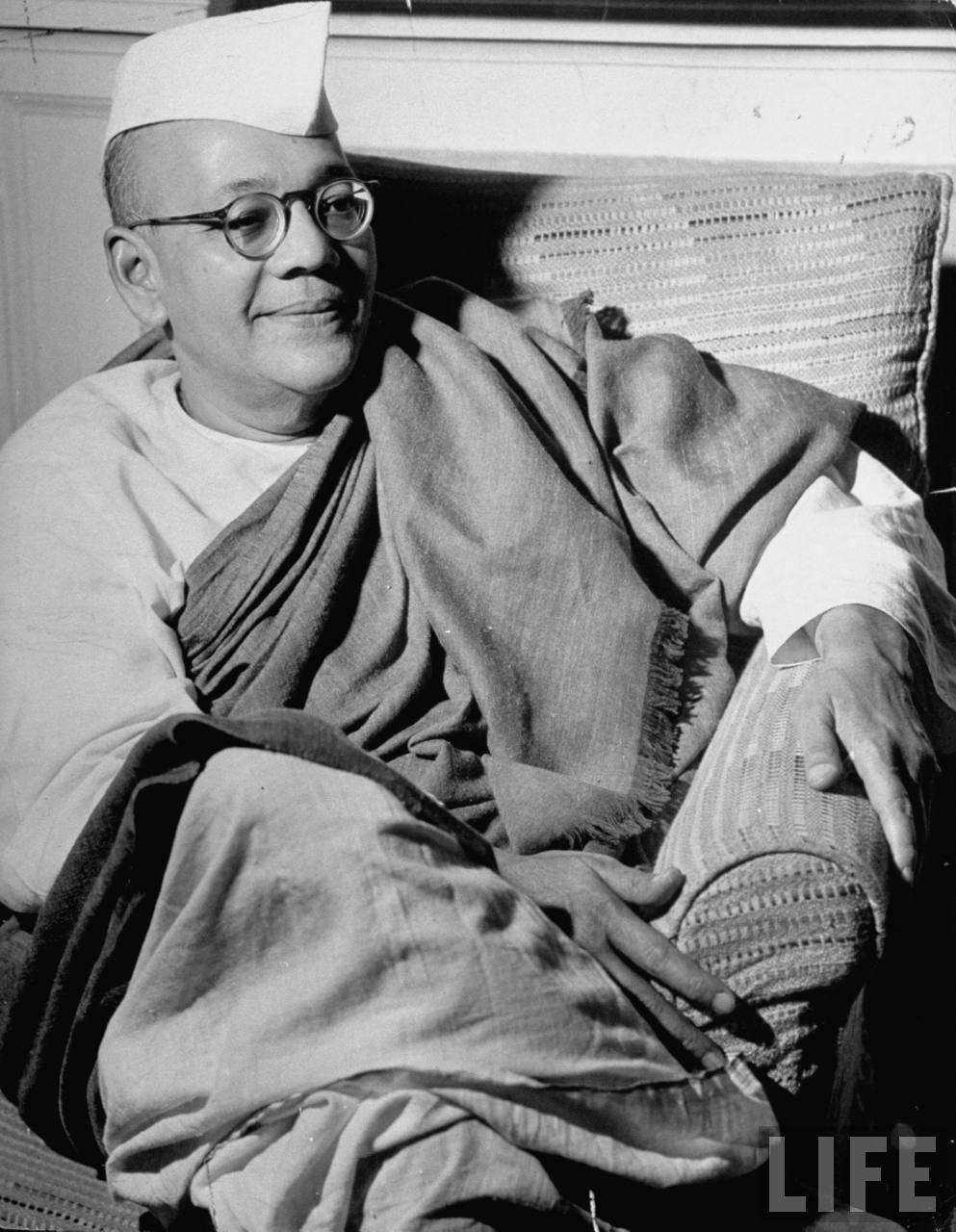 Sarat Chandra Bose, Leader of Indian National Congress - Delhi May 1946