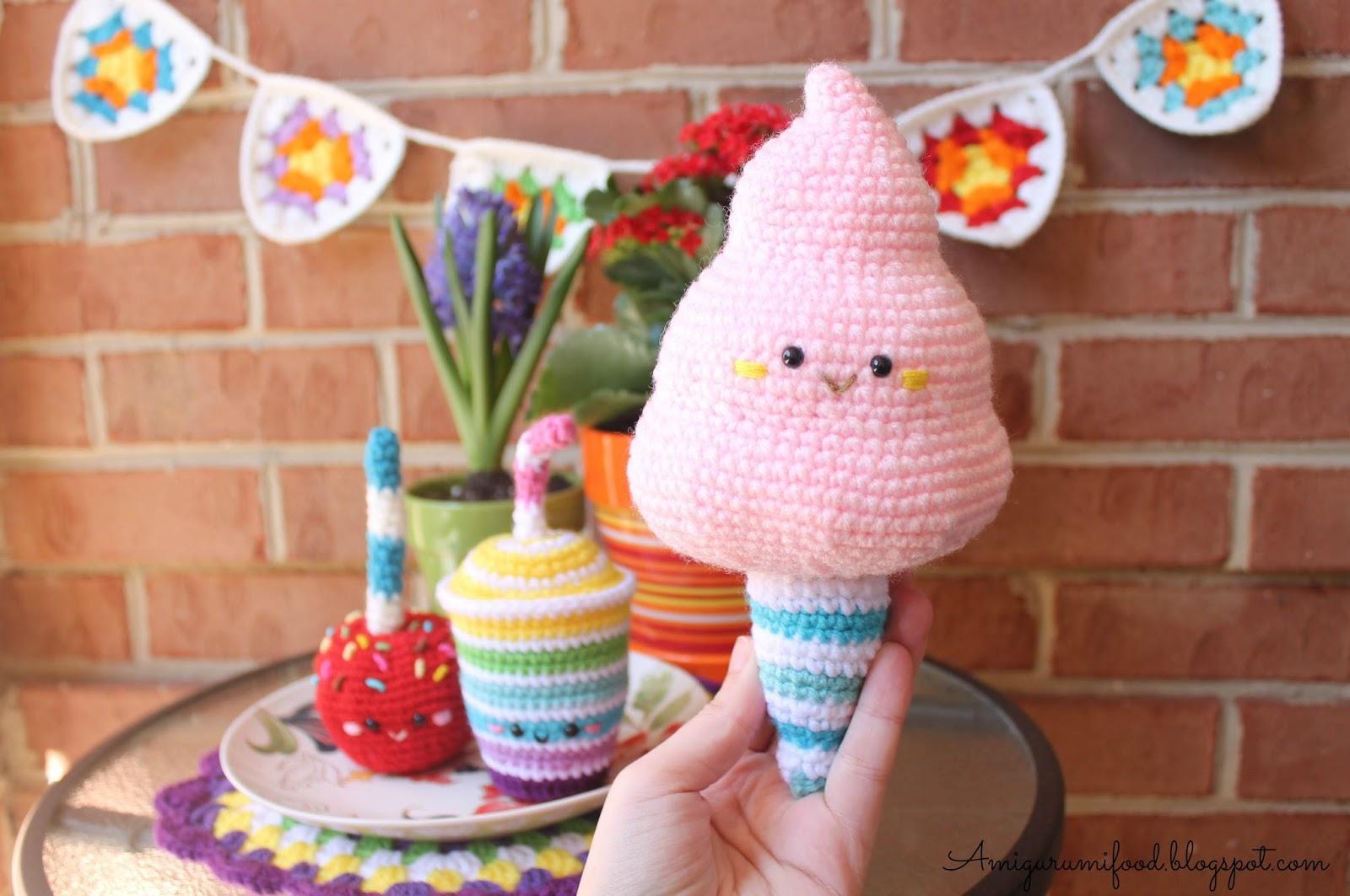 Milkshake PDF Pattern amigurumi crochet by SuperCuteDesignShop ... | 1063x1600