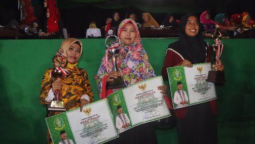 Selayar Juara II Lomba Qiraah Sab'ah, MTQ Sulsel 2018
