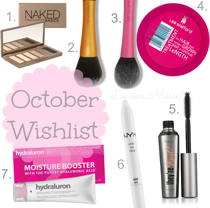 October Wishlist