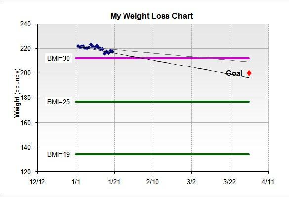 Measurement Weight Loss Chart Sivandearest