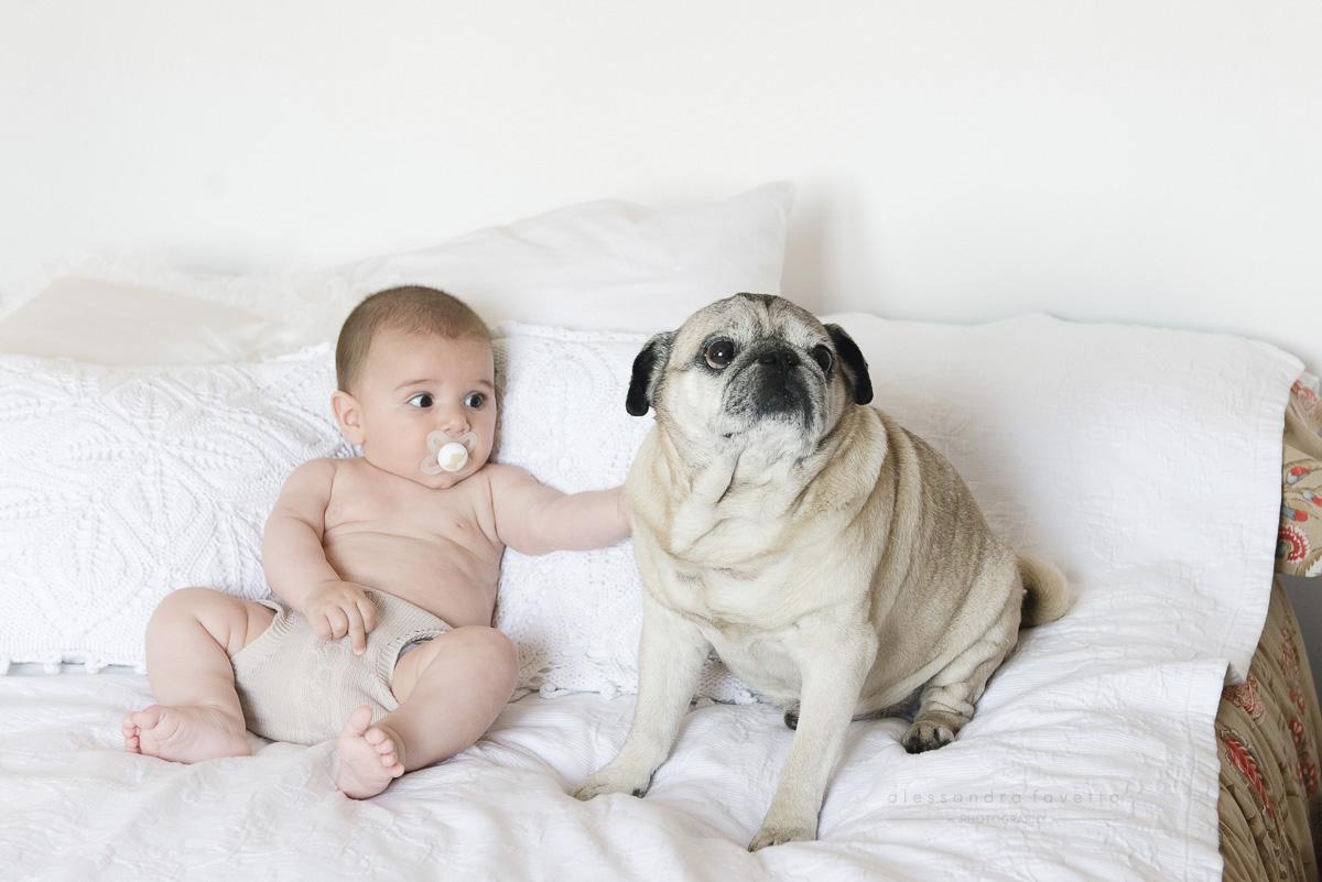 Sesión bebé lifestyle a domicilio en Sevilla y provincia