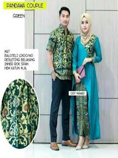 jual baju batik sarimbit couple