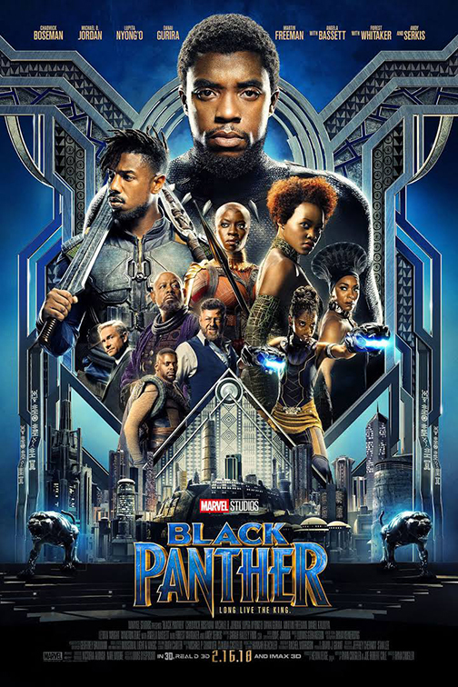 DVD movie cover for Black Panther