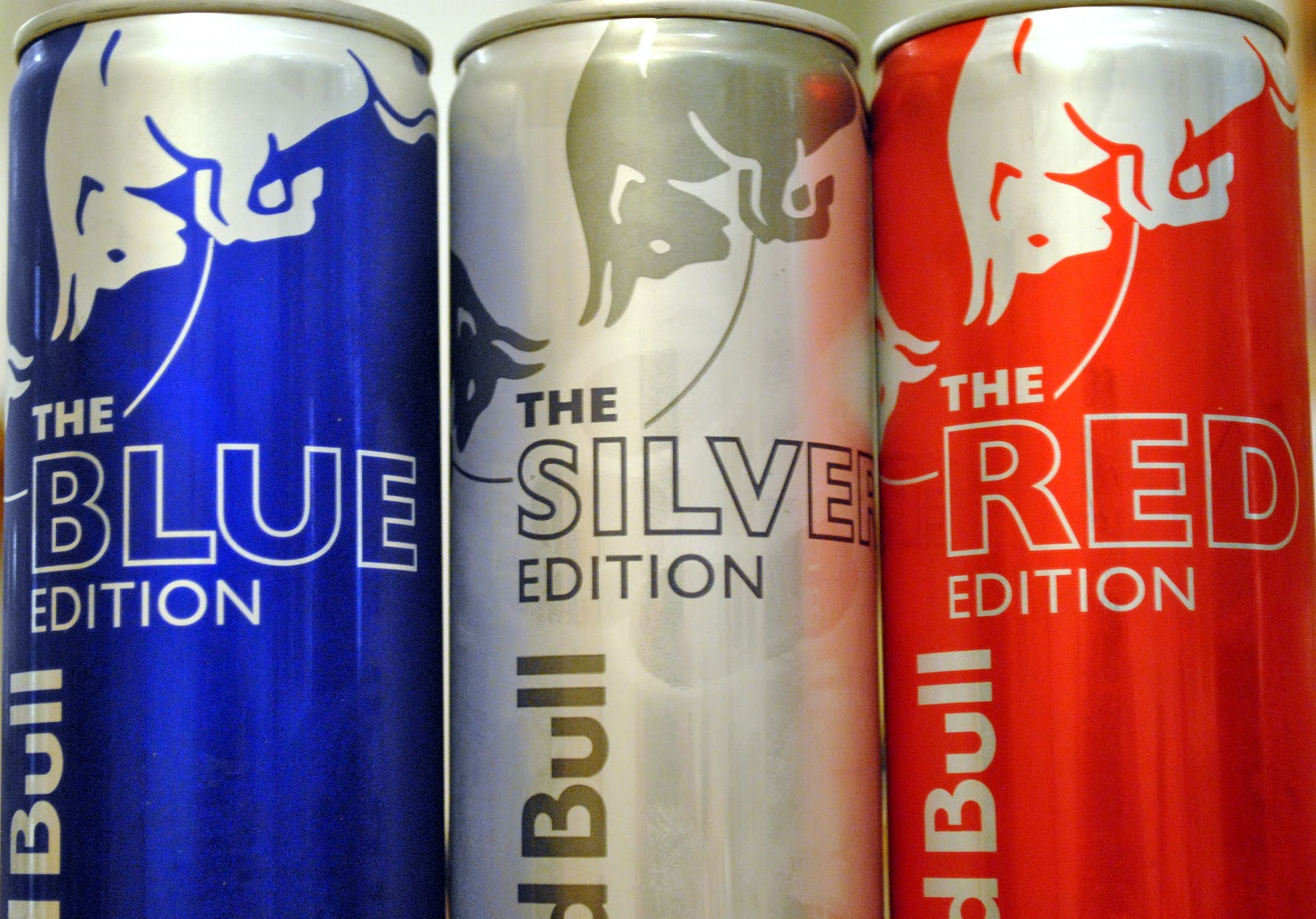 red bull blue silver and red edition foodette reviews. Black Bedroom Furniture Sets. Home Design Ideas