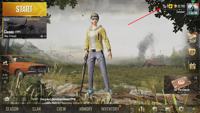 Cara Top-Up Cash Uc Pubg Mobile Dengan Pulsa