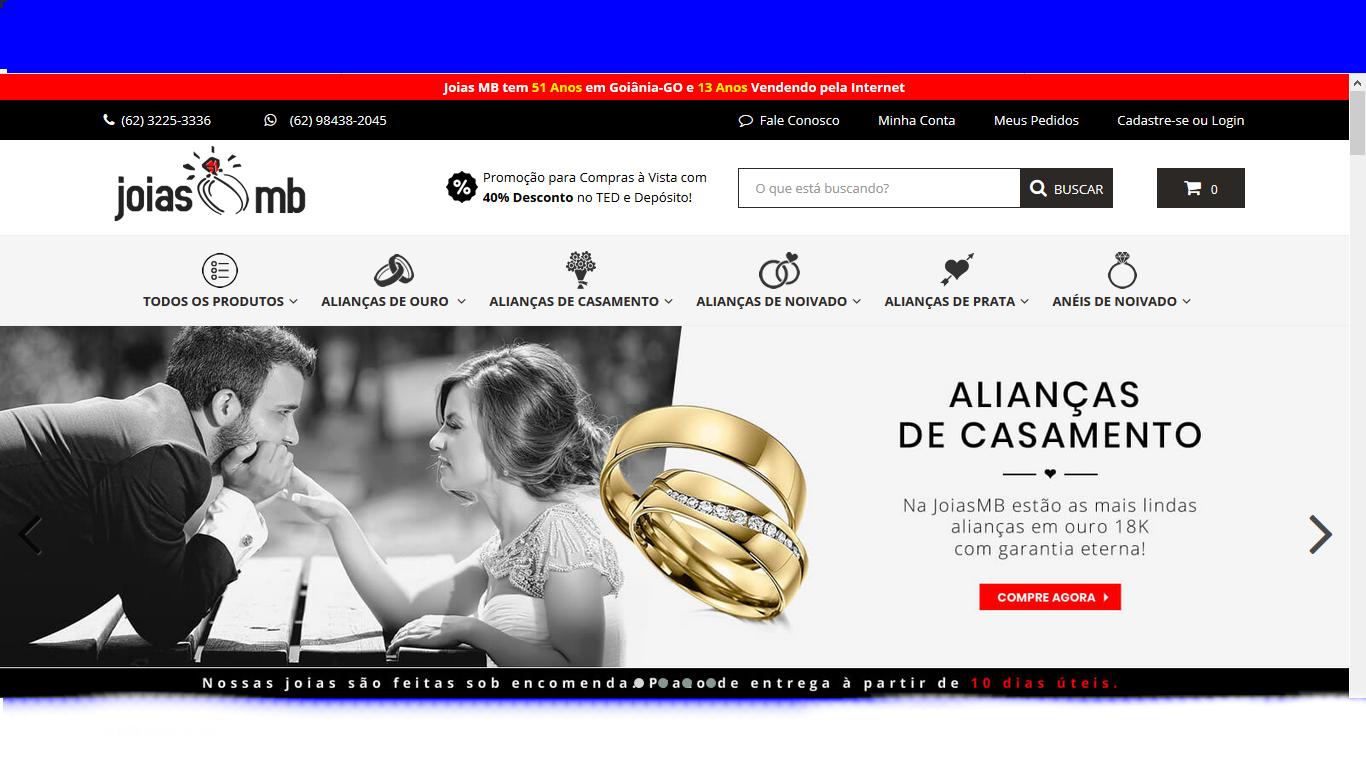 8a3dc0c61b9 Alianças de casamento e noivado em ouro 18k - de Goiania para sua regiao