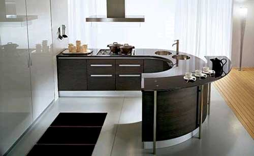 Bon Curved Kitchen Counters