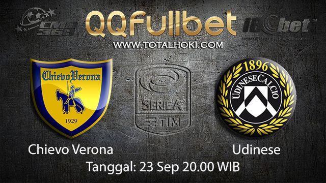 Prediksi Bola Jitu Chievo vs Udinese 23 September 2018 ( Italian Serie A )