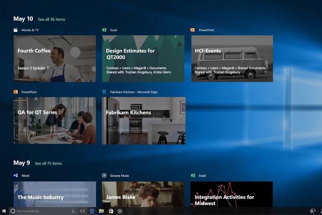 تعرف على ميزة الـ Timeline الجديدة التي أضافتها مايكروسوفت إلى الويندوز 10 والأشياء المهمة التي ستفيدك فيها