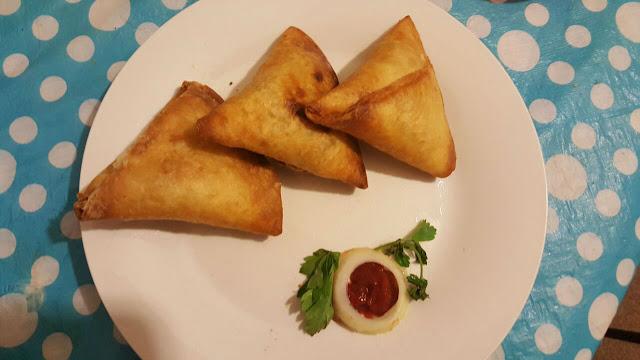 Tortilla samosas