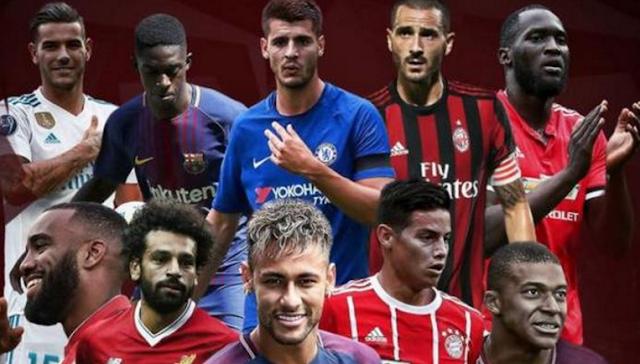 AGEN BOLA - Lima Klub Terboros di Bursa Transfer Musim Panas 2017