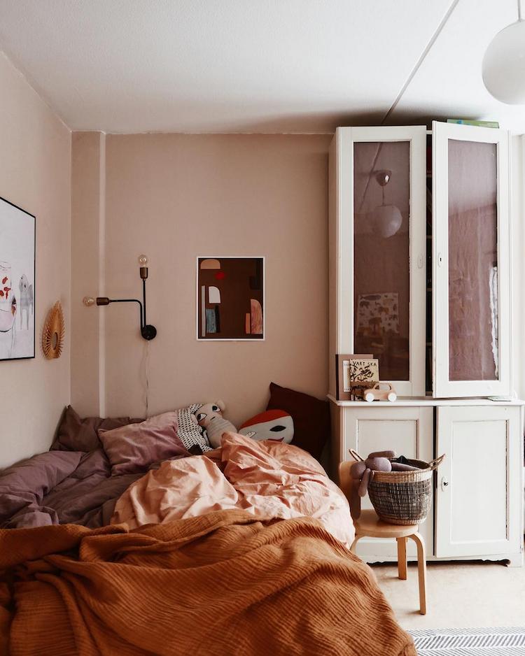 roze roest slaapkamer
