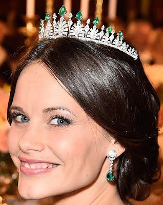 Princess Sofia Sweden Emerald Tiara
