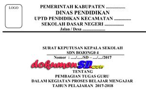 Download Contoh SKBM jenjang Sekolah Dasar (SD) Terbaru