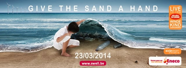 Swell Eneco Beach Clean Up 2014