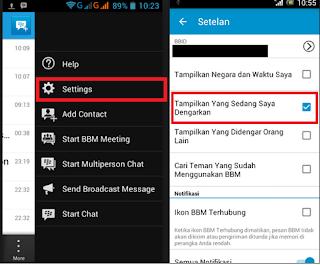 Aplikasi Musik yang Bisa Terhubung ke BBM Android