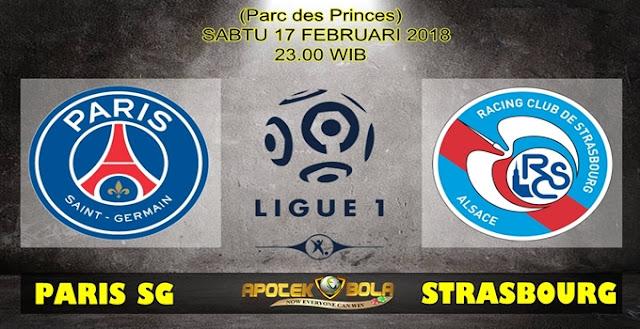 Prediksi Paris SG Vs Strasbourg 17 Februari 2018