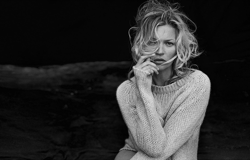 Naked Cashmere Campaign 2016 featuring Kate Moss