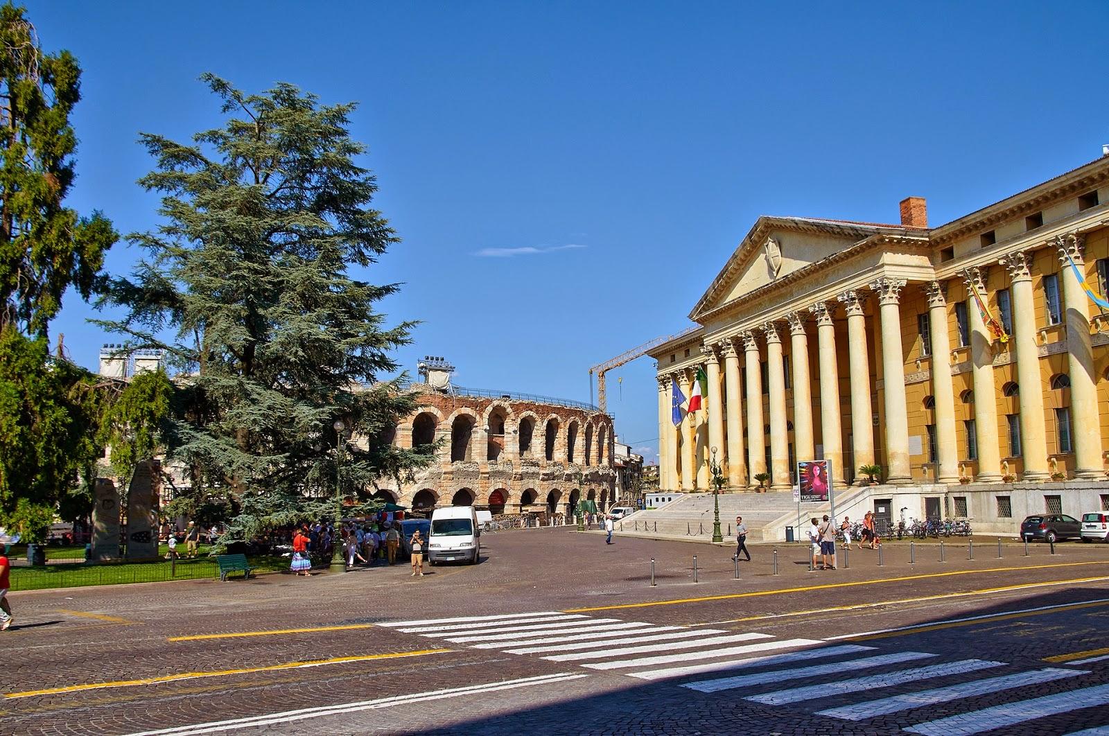Włochy, Werona, koloseum, amfiteatr