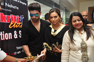 Bollywood Actress Sana Khan Launches Aakrithi Exibition  0285.JPG