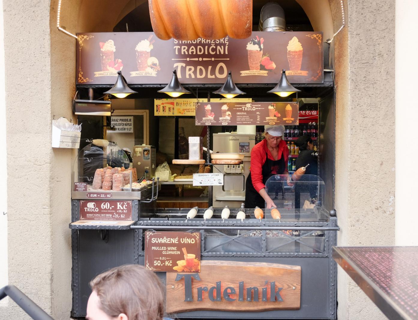 Trdelnik, Prague