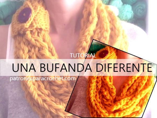 aprender-a-tejer-bufanda-crochet-facil