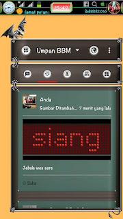 BBM Extra All v3.1.0.13 Blackdragon Apk Terbaru