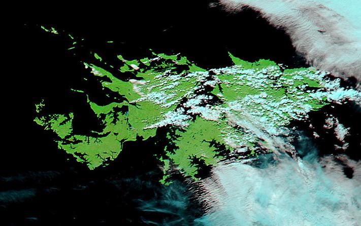 Meteorologia Practica Para El 2 Abril 2012 Fotos Satelitales De Coleccion En Homenaje A Las Islas Malvinas