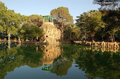 Estanque del Parc Samà