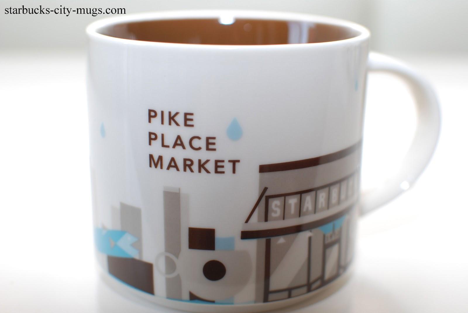 Starbucks City Mugs You Are Here Series