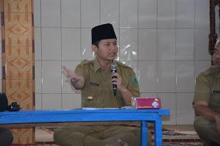 Wabup Arifin Ajak 27 KK Warga Kampung Baru Segera Tempati Rusunawa