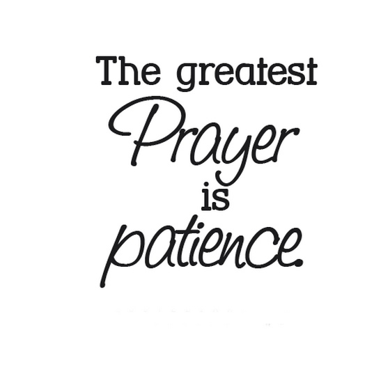 Patience and longsuffering