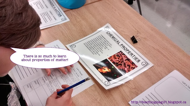 Photo of Moving on With Properties Of Matter Science Centres @teachingisagift.blogspot.ca