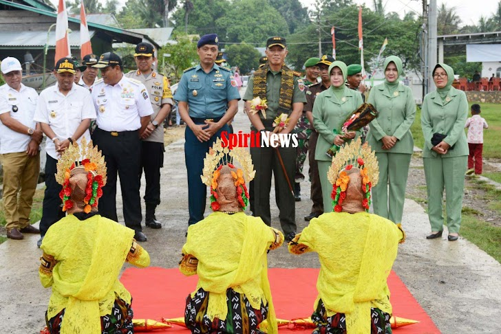 Kolonel Inf Suwarno, Inspektur Upacara Penutupan TMMD Ke 104 TA 2019, Kodim 1407/Bone