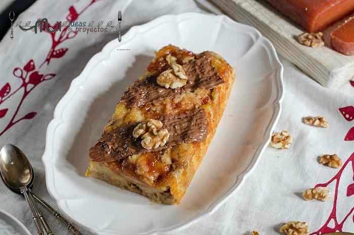 pastel-queso-nueces-membrillo-microondas2