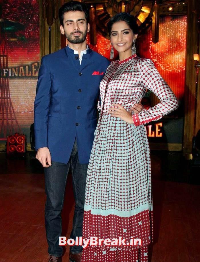 Sonam Kapoor, Fawad Khan, Sonam Kapoor in Amazing Dress - Pics from EKLKBK
