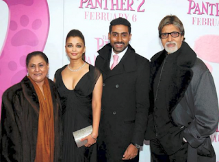 Aishwarya Rai With Her In Laws