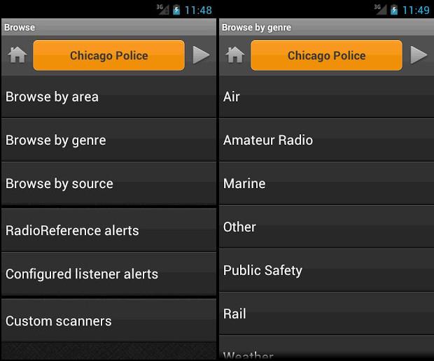 Scanner Radio Pro 4 0 APK   Download Best Android Apps