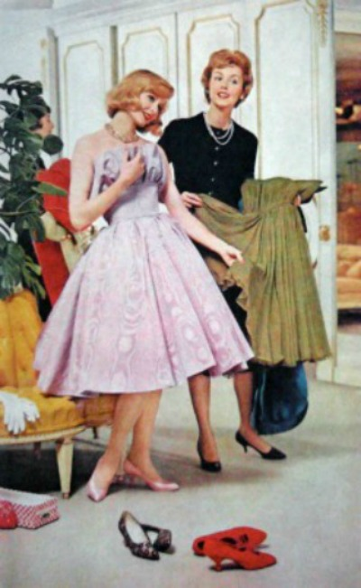 1959 Mademoiselle 'Choosing a Prom Dress'