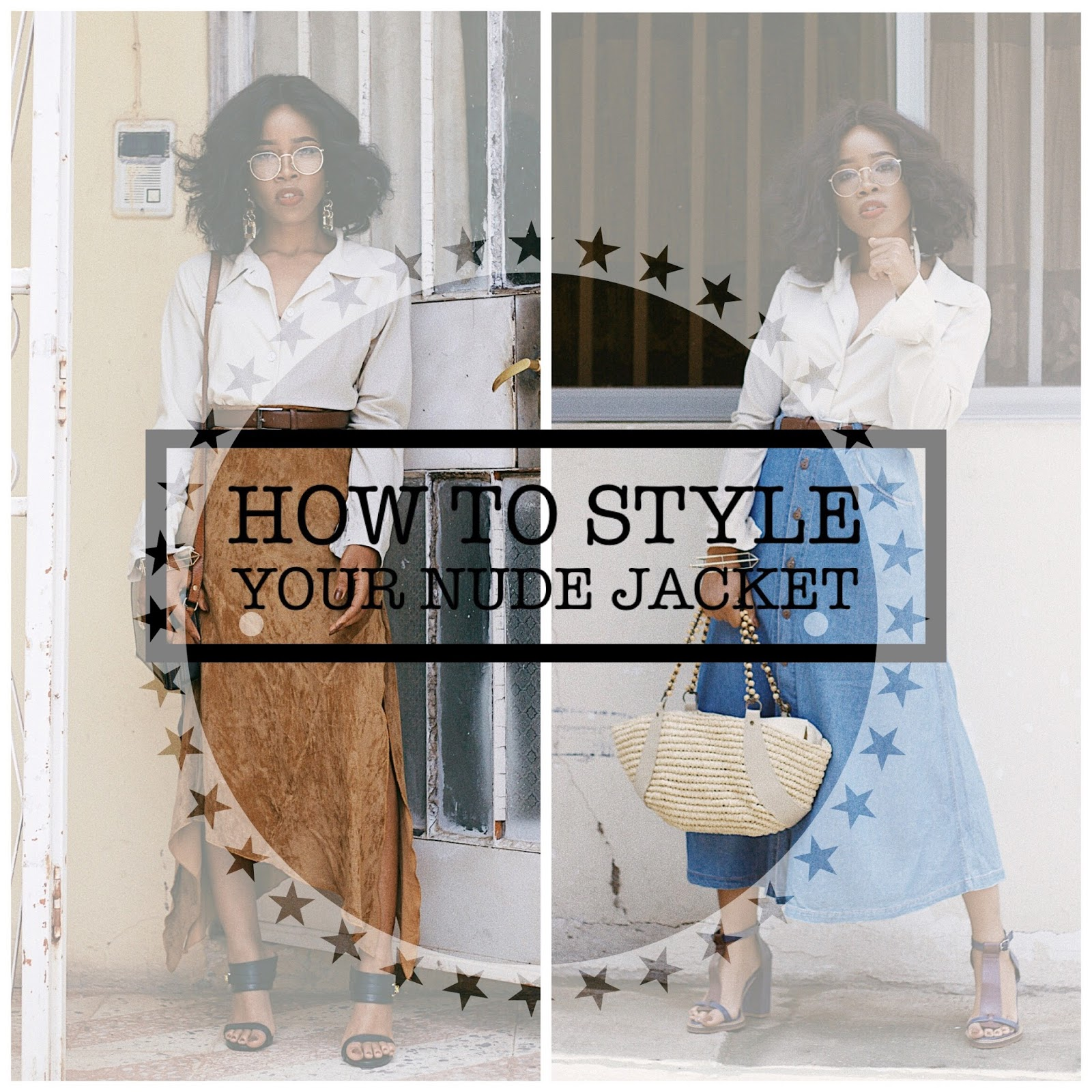 HOW TO STYLE A NUDE VINTAGE SHIRT