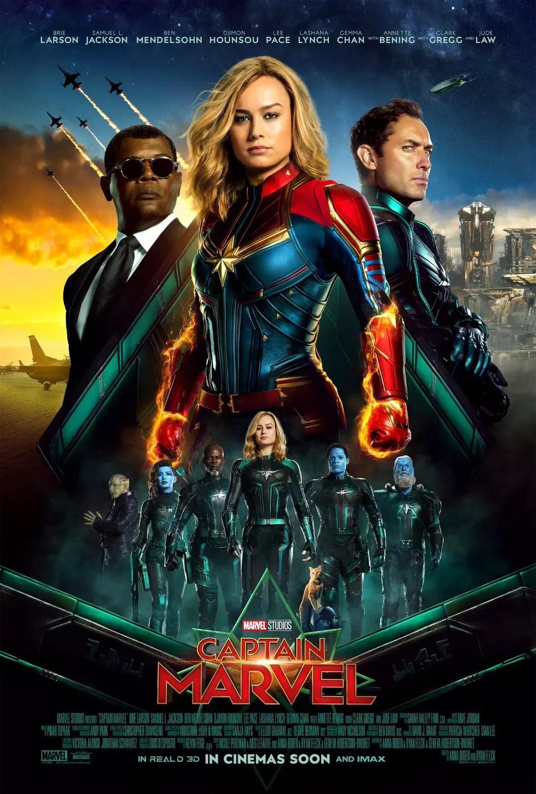spoiler-free movie review: captain marvel