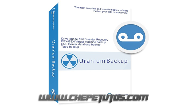Uranium Backup 9.4.1 Build 6598 poster box cover