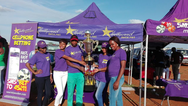 Hollywoodbets Makhado Team at the Sinthumule Kutama Easter Sports Challenge 2016
