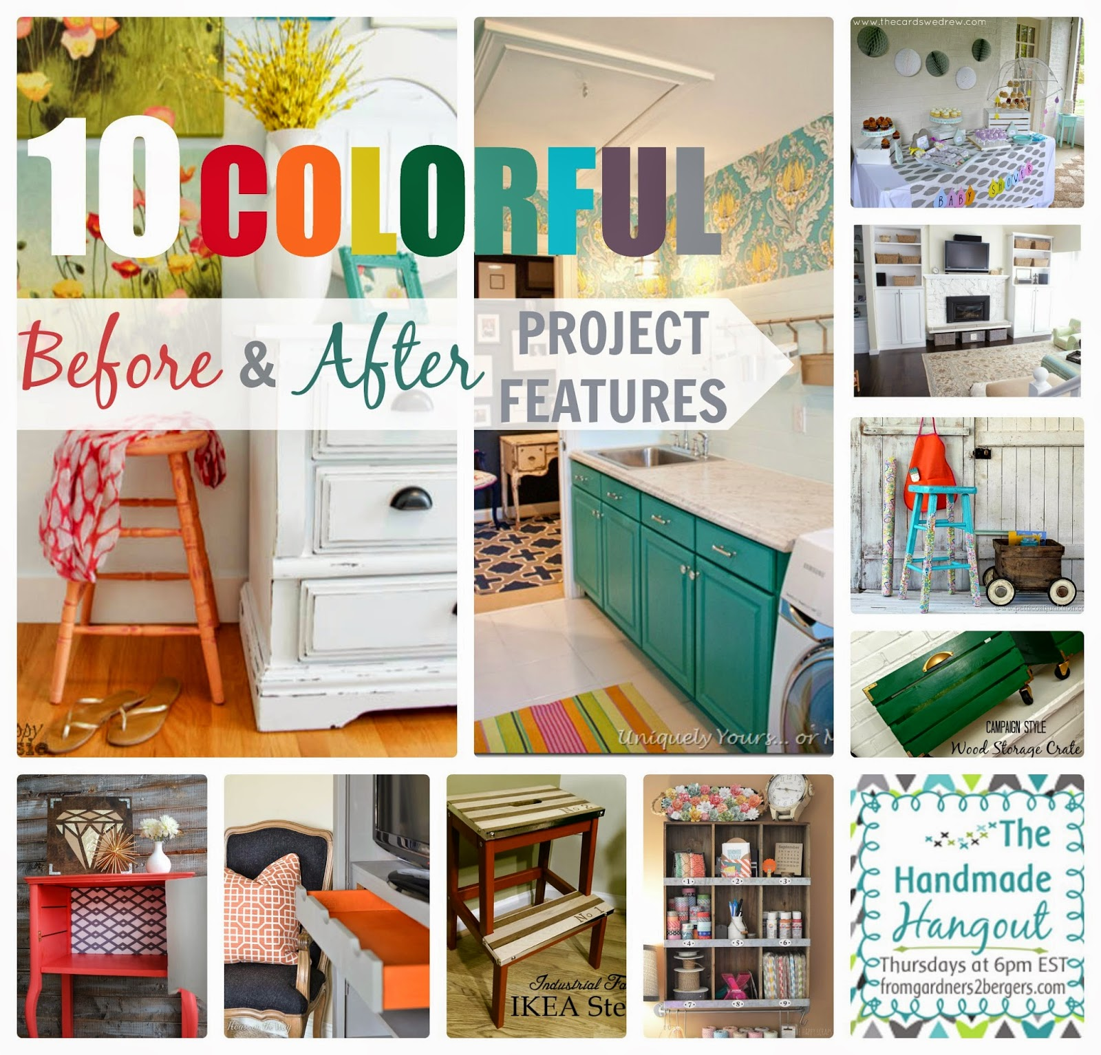 10 COLORFUL Before and After Features