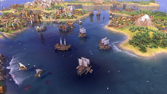 Sid Meiers Civilization VI Khmer and Indonesia Civilization and Scenario Pack PC Full Version Screenshot 3